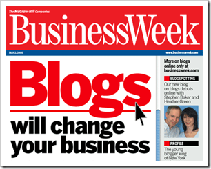 business week blogs and business